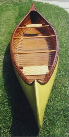 Old Town 1913 Ideal Canoe