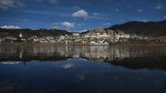 Esta celebración anual se realiza en el monasterioGanden Sumseling de Shangri-La, una ciudad ubicada en el norte de la provincia de Yunnan