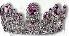 Pink Topaz Parure of Princess Marie of Wuerttemberg