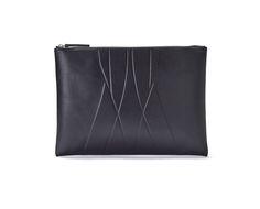 ALESYA ORLÓVA / GEO Clutch black / minimal, accessory, handbag, simplicity