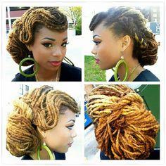 Style it as you want #stylish dread#dread#locs#dreadlock