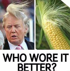 Trump vs Corn: Who Wore It Better?