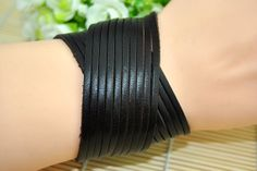 Brown  leather braceletcharm bracelet Fashion Jewelry by Evanworld, $7.99 Fashion handmade charm bracelet,best gift of friendship.