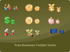 An icon set which will be helpful in creation of business and accounting-related websites and applications.