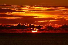 Beautiful sunset over Kantiang Bay Koh Lanta, Thailand