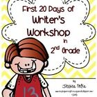 Do you want to try a writer's workshop approach with your 2nd graders?  Not sure how to get started?  Here is the answer!  $