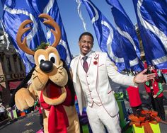 Nick Cannon returns to the Disneyland Resort this year for the 2013 Disney Parks Christmas Day Parade