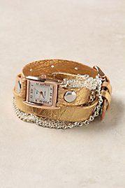 Artisan Metallic Wrap Watch