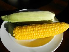 Fastest, easiest ears of corn you will ever make! Delicious!