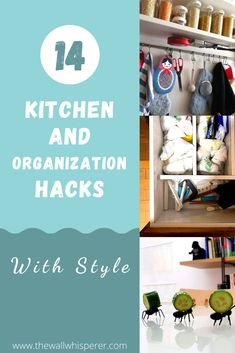 There are so many ways to Organize Your Kitchen. These 14 brilliant organization and storage hacks will help you organize your kitchen. Find ideas for small kitchens and affordable solutions. Storage Hacks, Organization Hacks, Storage Solutions, Cupboard Shelves, Low Shelves, Saving Ideas, Saving Tips, Diy Projects On A Budget, Home Interior