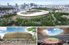 National Stadium, Tokyo 2020, Alter, Marina Bay Sands, Nice, Building, Travel, Soccer, Viajes
