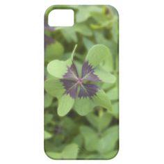Lucky Four-Leaf Clover Shamrock Iphone 5 Cover
