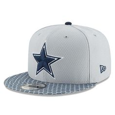 Dallas Cowboys New Era 2017 Sideline Official 9FIFTY Snapback Cap a1100700a1b