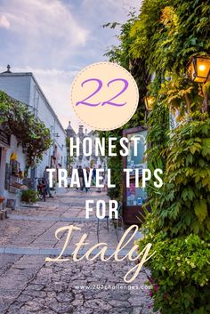 22 honest Italy travel tips for first-timers   203Challenges