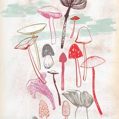 Fungi by groundwork on Etsy, $20.00