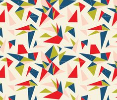 winter_origami fabric by holli_zollinger on Spoonflower - custom fabric
