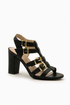 Rocke Sandals in Black