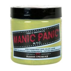 EDITED Manic Panic For Polyvore ❤ liked on Polyvore featuring hair, hair dye and manic panic