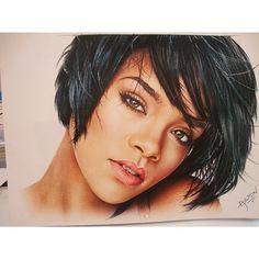 Finished Rihanna.  Technique used: Coloured pencils and pastels.  #nawden #artcollective #artnerd2014 #artwork #instaart #instadraw  #hgart3  #artsnapper #art #rihanna #creepycreative #idrew4u #artstag  #drawing #portrait #deviantshout #alien_contest  #bestdm #tagsforlikes #artoftheday #instaartist #desenh4ndo #skrien #daily__art #artofdrawingg #art_empire #artist_4_shoutout #art_spotlight #artist_features #artsanity