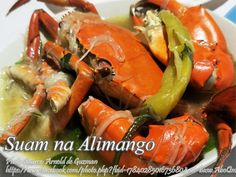 This is a Kapampangan version of the suam na mais. Instead of using corn as the thickening agent, this suam dish uses misua. Filipino Dishes, Filipino Food, Filipino Recipes, Crab Recipes, Salad Recipes, Pancit, Crab Salad, Pinoy Food, Crab Meat