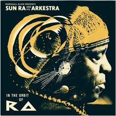 Illustration – Art – Design // Lewis Heriz » Sun Ra and His Arkestra – In the Orbit of Ra