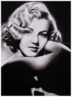 Norma Jeane Mortenson by *Ladowska on deviantART  || This image first pinned to Marilyn Monroe Art board, here: http://pinterest.com/fairbanksgrafix/marilyn-monroe-art/ ||