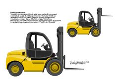 Forklift truck, bucket loader, loader,