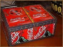 Upcycled cans into storage boxes
