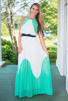 """The Siesta Key Maxi Dress, Mint"""