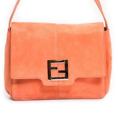 336102fa08 Shop authentic Fendi Suede Mama Forever Bag at revogue for just USD 219.00