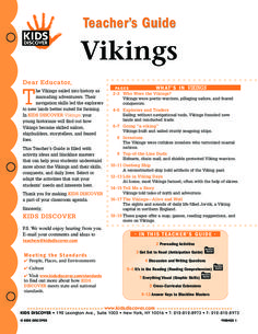 This free Lesson Plan for Kids Discover Vikings will help you teach kids all about the history and culture of these feared invaders, whose heyday stretched from the 8th-11th centuries.