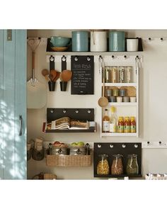 Getting inspiration from this Gabrielle Pantry Set from Pottery Barn