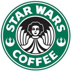 Star Wars coffee! love this since i work for starbucks :)