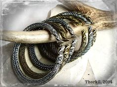 Viking bracelets by Thorkil. https://www.facebook.com/pages/Thorkil-Grzegorz-Kulig/192627530780383?fref=photo