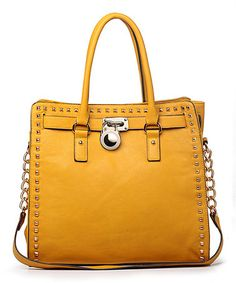 Yellow Stone Office-Chic Tote by MKF Collection #zulily #zulilyfinds