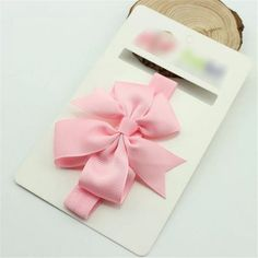 Cute Baby Girl Kids Toddlers Hair Band Bowknot Headbands Hair Accessories Pink * Click image to review more details. (This is an affiliate link and I receive a commission for the sales)