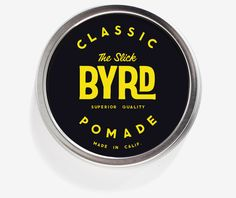 Byrd Classic Pomade | Rudy's Barbershop $22 #ShopSeattleApothecary