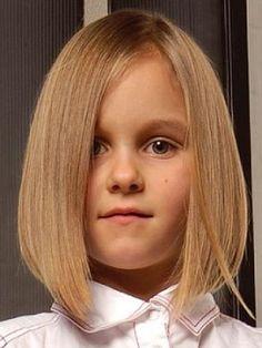 Cortes de pelo para niñas: Escalado