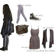 Violet Harmon signature look Grunge Outfits, Grunge Fashion, Fall Outfits, Casual Outfits, Fashion Outfits, Womens Fashion, Fandom Outfits, Character Outfits, Mode Inspiration
