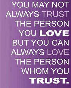 Trust ☼