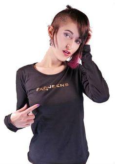 Camiseta Faqueens manga larga #fancyqueens