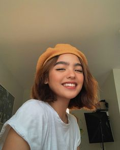 """Andrea Brillantes on Instagram: """"So thankful and happy with my Careline Family! Sharing with all of you guys that #CarelineGangSearch is finally happening! Check out…"""" Short Hair Tomboy, Girl Short Hair, Short Hair Cuts, Short Hair Styles, Her Cut, Cut Her Hair, Chin Length Haircuts, Beautiful Young Lady, Aesthetic Hair"""
