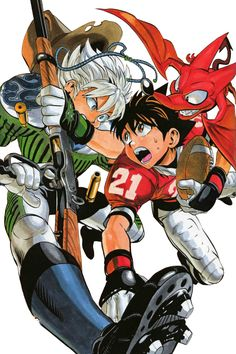 The 190 Best Eyeshield 21 Images On Pinterest In 2018