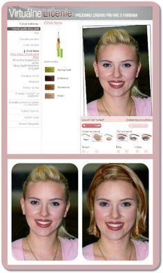 Líčenie - Virtuálne premeny v online aplikácii Mary Kay - Supervizáž
