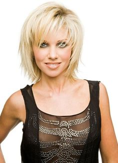 hairstyles for 2013 layered with choppy bangs - just a tad more length.