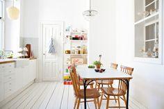 cozinha nórdica moderna
