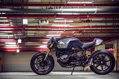 BMW R NineT Paranoia by OneHandMoto Left Side Profile
