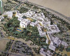The American University in Cairo New Campus – Sasaki - Modern University Architecture, Education Architecture, School Architecture, Campus Map, College Campus, Campus University, School Floor Plan, Futuristic Architecture, Landscape Architecture