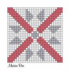 Crochet Afgans, Crochet Quilt, Motifs Granny Square, Charts And Graphs, Graph Paper, Christmas Tree Ornaments, Pixel Art, Quilt Blocks, Cross Stitch