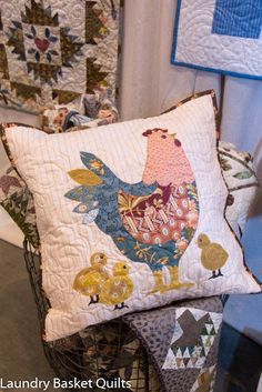 We just had the pleasure to be a part of the 2017 Quilt Market in St Louis, Missouri. Our booth was set up  with a lot of beautiful projects from the Blue Sky collection, adorable quilts from the b…